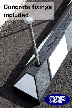 Safety parking bay stopper