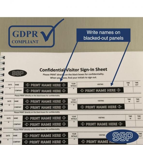GDPR Visitor book