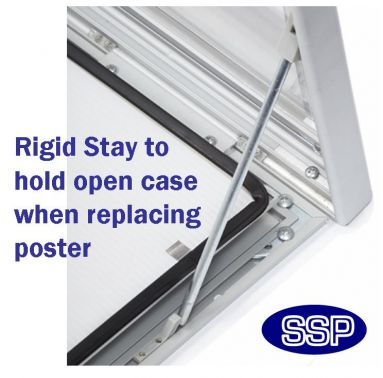 locking poster cases