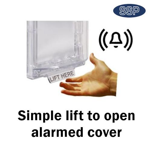 covers break glass