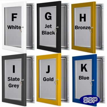 lockable poster frames