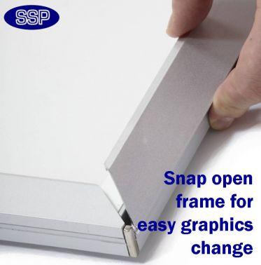 LED Snap Frame Light Box (A3)