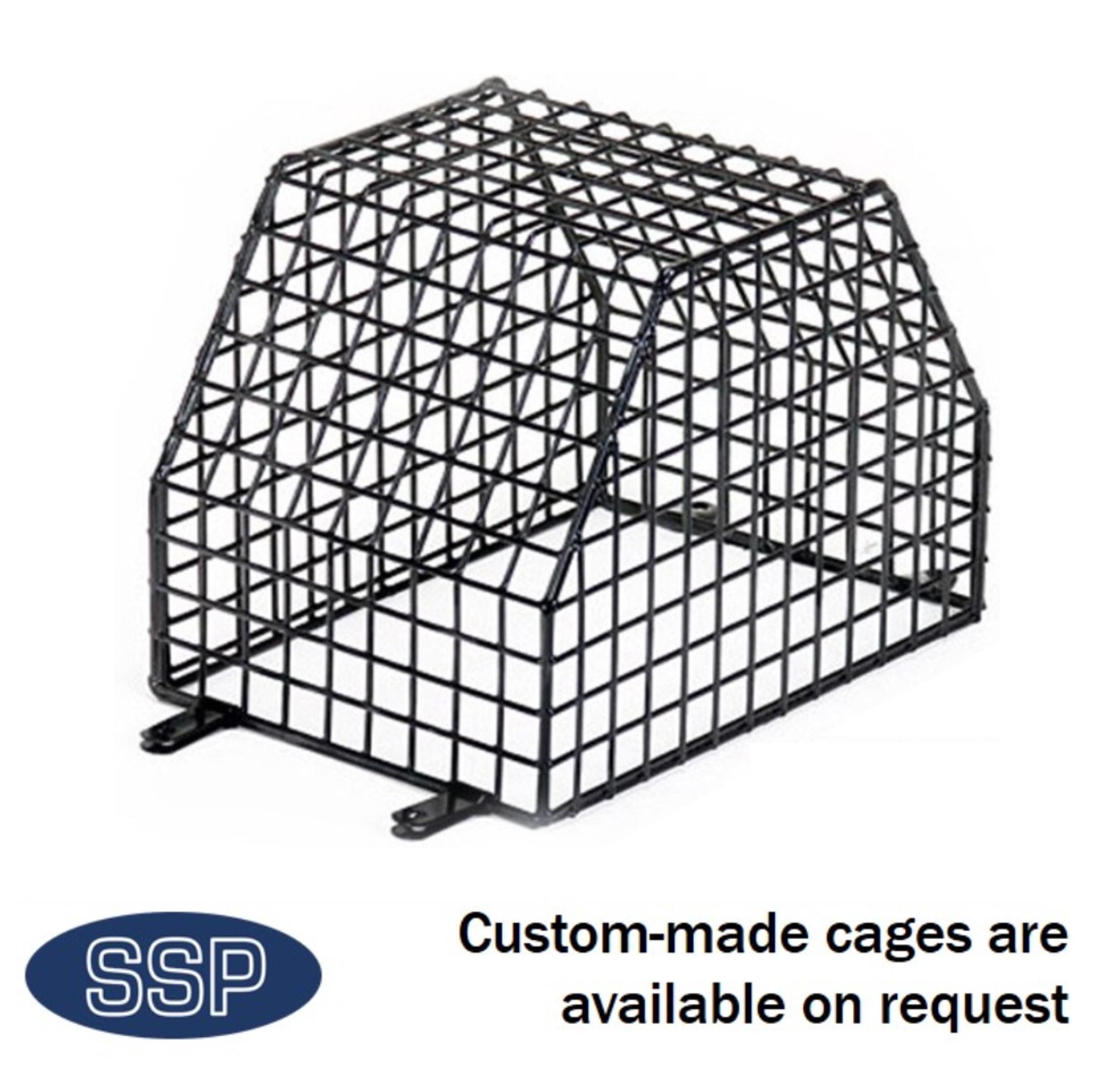 Radio detector cage